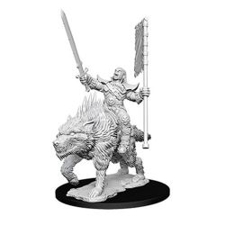 ROLEPLAYING MINIATURES -  ORC ON DIRE WOLF FIGURES -  NOLZUR'S MARVELOUS MINIATURES