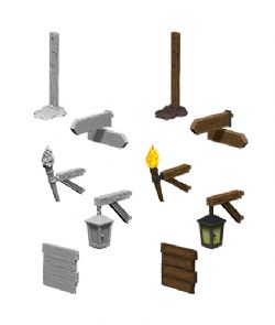 ROLEPLAYING MINIATURES -  SIGNS AND LIGHTS -  WIZKIDS DEEP CUTS