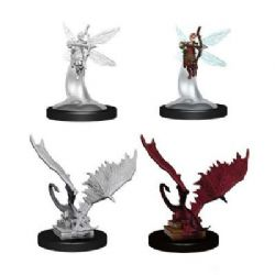 ROLEPLAYING MINIATURES -  SPRITE AND PSEUDODRAGON (4) -  NOLZUR'S MARVELOUS MINIATURES