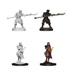 ROLEPLAYING MINIATURES -  YAUN-TI PUREBLOODS ADVENTURERS (2) -  NOLZUR'S MARVELOUS MINIATURES