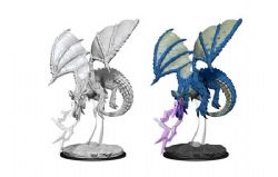 ROLEPLAYING MINIATURES -  YOUNG BLUE DRAGON -  NOLZUR'S MARVELOUS MINIATURES