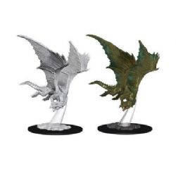ROLEPLAYING MINIATURES -  YOUNG BRONZE DRAGON -  NOLZUR'S MARVELOUS MINIATURES