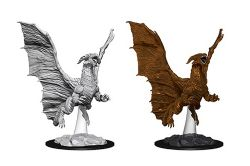 ROLEPLAYING MINIATURES -  YOUNG COPPER DRAGON -  NOLZUR'S MARVELOUS MINIATURES