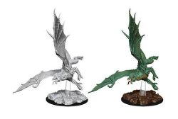 ROLEPLAYING MINIATURES -  YOUNG GREEN DRAGON -  NOLZUR'S MARVELOUS MINIATURES