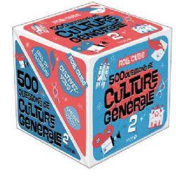 ROLL'CUBE -  500 QUESTIONS DE CULTURE GÉNÉRALE