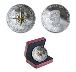 ROSE OF THE WINDS -  2019 CANADIAN COINS