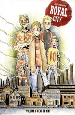 ROYAL CITY -  USED BOOKS - TOMES 1 TO 3 (ENGLISH)