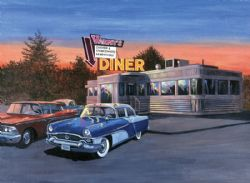 ROYAL & LANGNICKEL -  PAINT BY NUMBERS - 50'S DINER