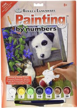 ROYAL & LANGNICKEL -  PAINT BY NUMBERS - FRIENDS AT PLAY