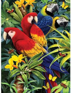 ROYAL & LANGNICKEL -  PAINT BY NUMBERS - MAJESTIC MACAWS