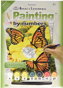 ROYAL & LANGNICKEL -  PAINT BY NUMBERS - MAJESTIC MONARCHS