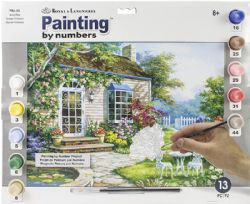 ROYAL & LANGNICKEL -  PAINT BY NUMBERS - SPRING PATIO
