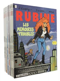 RUBINE -  BD USAGÉS TOME 01 À 13