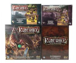 RUNEWARS -  BASE GAME + 2 EXPANSIONS + 1 ESSENTIALS PACK (FRENCH)
