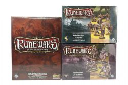 RUNEWARS -  CORE BOX EXTRAS + 1 ESSENTIALS KIT (FRENCH)