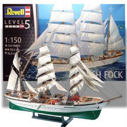 SAIL SHIP -  GORCH FOCK 1/150 (LEVEL 5 - VERY HARD)