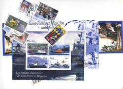 SAINT PIERRE AND MIQUELON -  2011 COMPLETE YEAR SET, NEW STAMPS