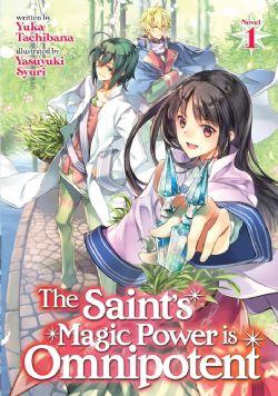 SAINT'S MAGIC POWER IS OMNIPOTENT, THE -  -NOVEL- (ENGLISH V.) 01