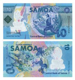SAMOA -  10 TALA 2019 (UNC) - COMMEMORATIVE NOTE