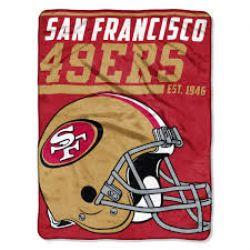 SAN FRANCISCO 49ERS -  SUPER SOFT THROW (46