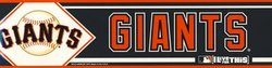 SAN FRANCISCO GIANTS -  BUMPER STICKER