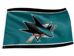 SAN JOSE SHARKS -  3' X 5' HORIZONTAL FLAG