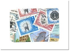 SAUDI ARABIA -  100 ASSORTED STAMPS - SAUDI ARABIA