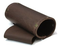 SCABBARDS -  LEATHER SCABBARDS - RIGHT HANDED - BROWN