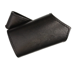 SCABBARDS -  LEATHER SWORD HOLDER - RIGHT HAND - BLACK