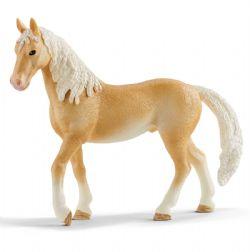 SCHLEICH FIGURE -  AKHAL-TEKE STALLION (4.96 X 1.41 X 4.01 INCH) -  HORSES 13911