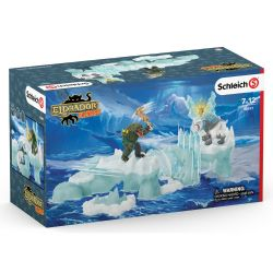 SCHLEICH FIGURE -  ATTACK ON ICE FORTRESS -  ELDRADOR CREATURES 42497