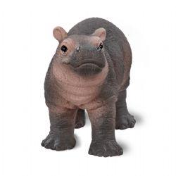 SCHLEICH FIGURE -  BABY HIPPOPOTAMUS (2.67 X 0.98 X 1.57 INCH) -  WILD LIFE - AFRICA 14831