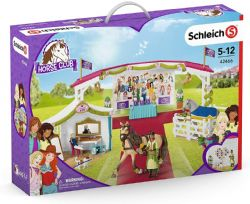 SCHLEICH FIGURE -  BIG HORSE SHOW WITH DRESSING TENT -  HORSE CLUB 42466
