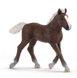 SCHLEICH FIGURE -  BLACK FOREST FOAL (3.14 X 0.86 X 2.95 INCH) -  HORSES 13899