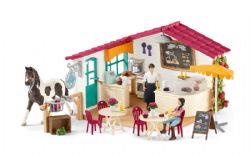 SCHLEICH FIGURE -  RIDER CAFÉ -  HORSE CLUB 42519