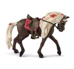 SCHLEICH FIGURE -  ROCKY MOUNTAIN HORSE MARE HORSE SHOW -  HORSE CLUB