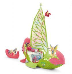 SCHLEICH FIGURE -  SERA'S MAGICAL FLOWER BOAT -  BAYALA 42444