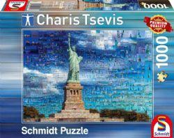 SCHMIDT PUZZLE -  CHARIS TSEVIS - NEW YORK (1000 PIECES)