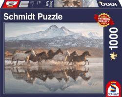 SCHMIDT PUZZLE -  HORSES IN CAPPADOCIA (1000 PIECES)