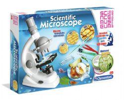 SCIENCE & JEU -  SCIENTIFIC MICROSCOPE (ENGLISH)
