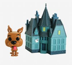 SCOOBY-DOO -  POP! VINYL FIGURE OF SCOOBY-DOO & HAUNTED MANSION (6 INCH) 01