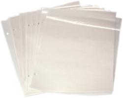 SCOTT INTERNATIONAL -  GLASSINE INTERLEAVES (9 3/8 X 11 1/4) FOR 2-POST ALBUMS (PACK OF 100)