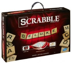 SCRABBLE -  DELUXE EDITION (FRENCH)