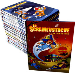 SCRAMEUSTACHE, LE -  COLLECTION 42 ALBUMS