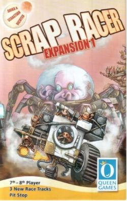 SCRAP RACER -  EXPANSION 1 (ENGLISH)