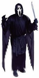 SCREAM -  GHOST FACE COSTUME (ADULT - ONE-SIZE)