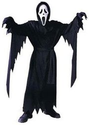SCREAM -  GHOST FACE COSTUME (CHILD - ONE-SIZE)