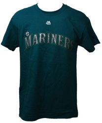SEATTLE MARINERS -  TURQUOISE FELIX HERNANDEZ #34 T-SHIRT