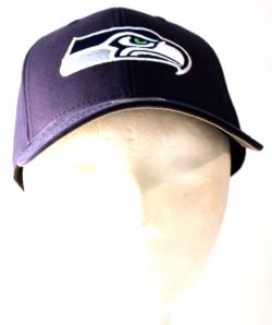 SEATTLE SEAHAWKS -  ADJUSTABLE BLUE CAP