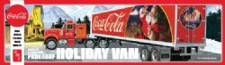 SEMI-REMORQUE -  FRUEHAUF HOLIDAY HAULER SEMI TRAILER COCA-COLA 1/25 (SKILL LEVEL 3 - MODERATE)
